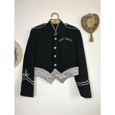 Veste style officier vintage