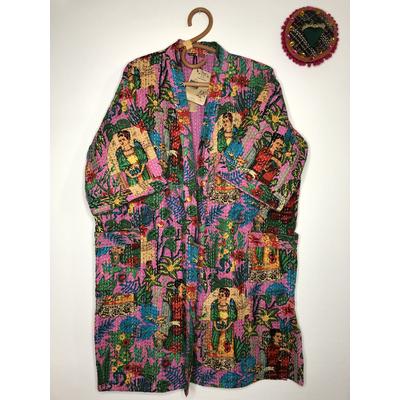 Veste kimono indienne