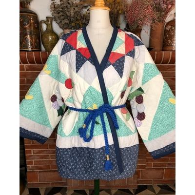 Veste kimono patchwork 2