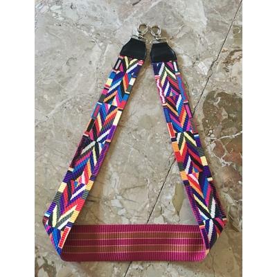 Bandoulière de sac en tissu multicolore