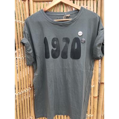 T-shirt 1970 Kaki