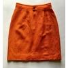 jupe courrèges vintage orange dos