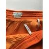 jupe courrèges vintage orange détails