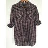 chemise écossaise vintage