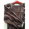 robe indienne bohème détails
