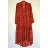 Robe isabel kilibbi bohème rouge