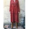 Robe isabel kilibbi bohème rouge gypsy