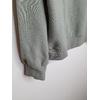 hoodie vert détail bord côte