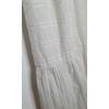 robe blanche vintage bas