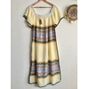 robe mexicaine vintage dos