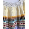 robe mexicaine vintage col