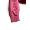 sweat pérù rose détail bord côte