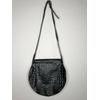 sac cuir noir vintage dos