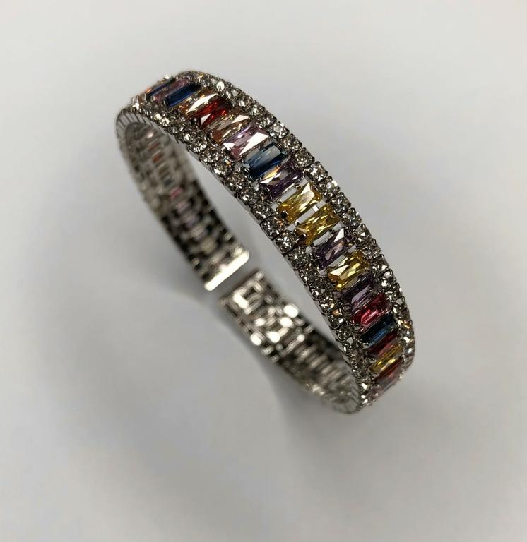 bracelet baguette svarowski