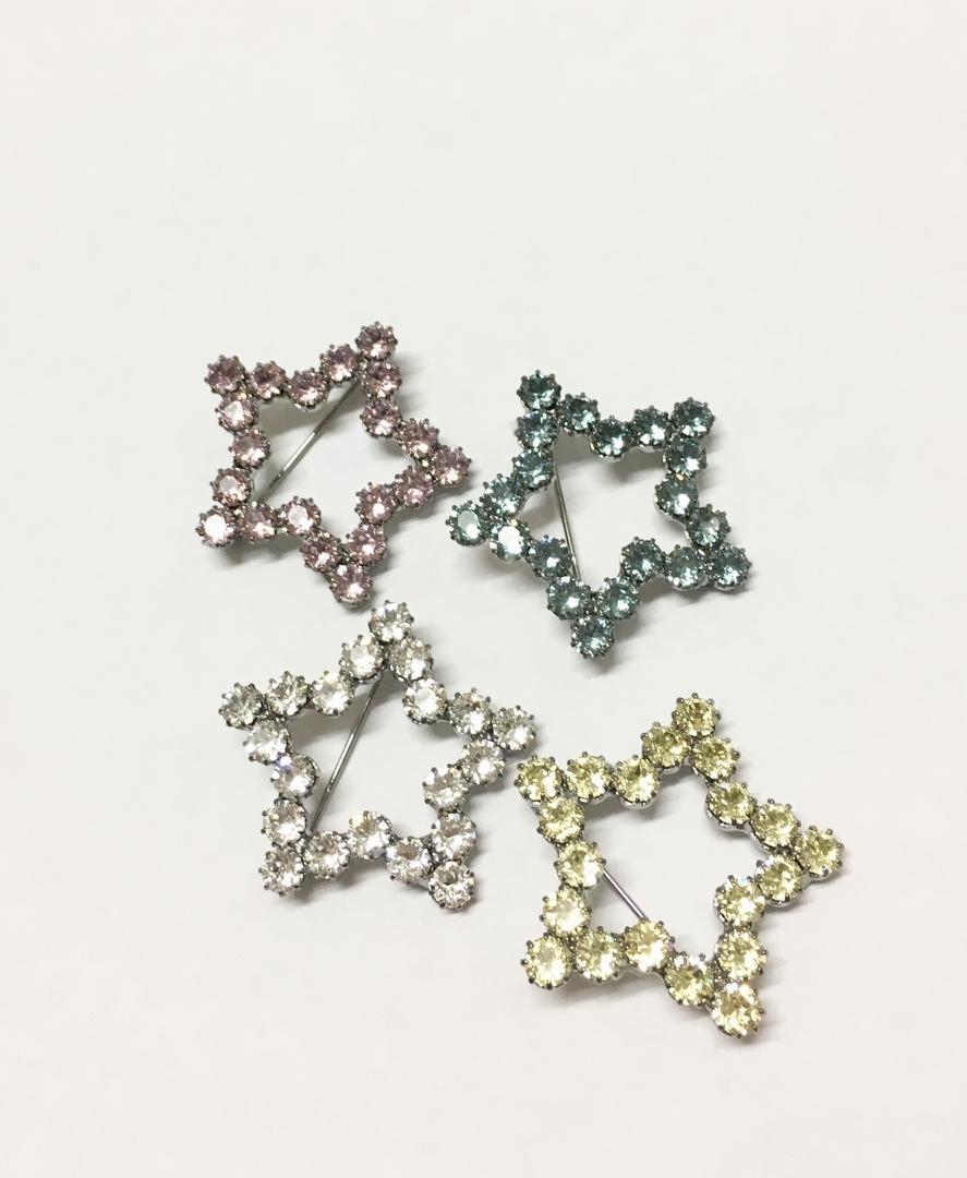 broches étoile reine rosalie