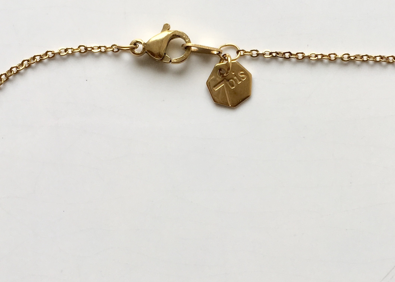 collier étoile filante