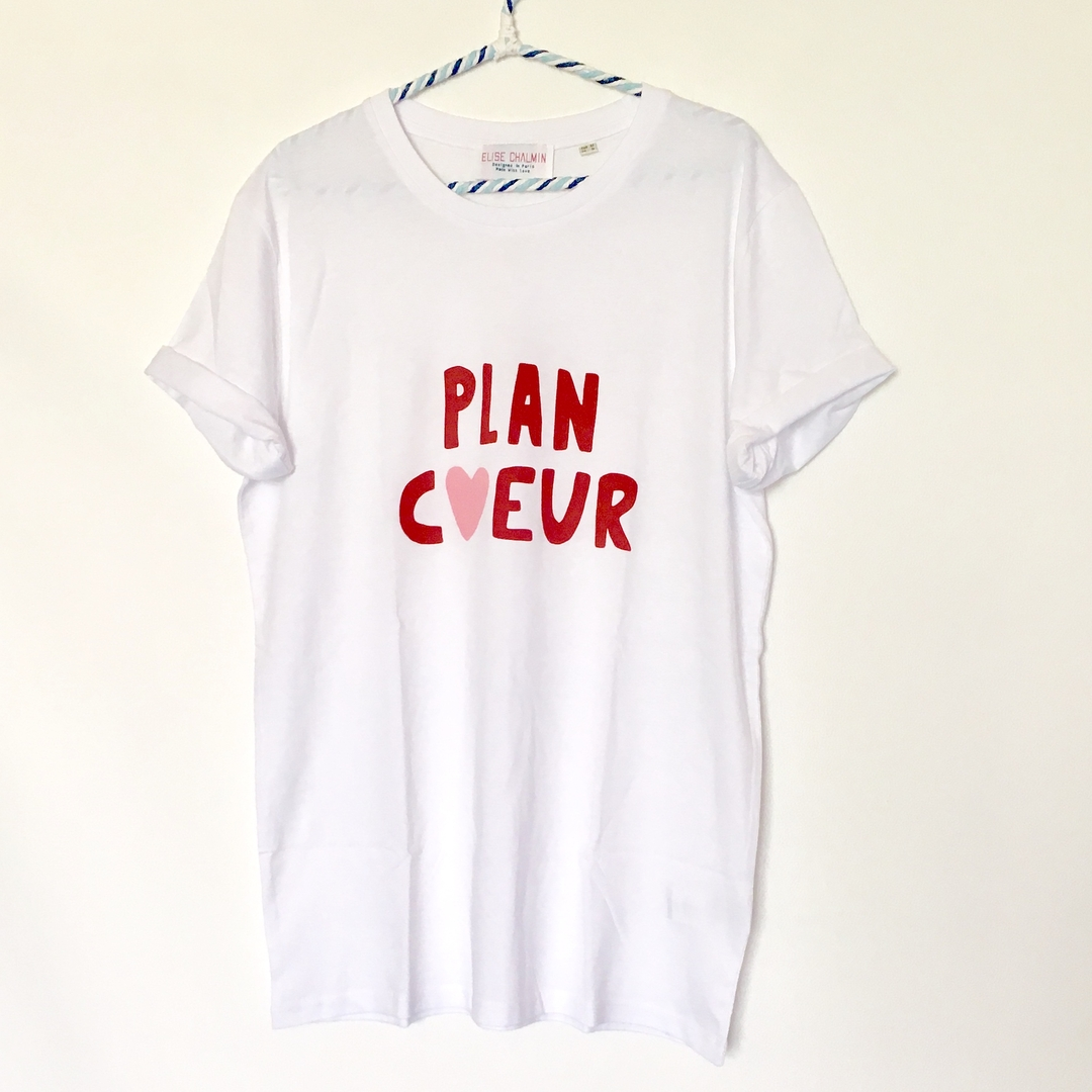 t shirt plan coeur elise chalmin