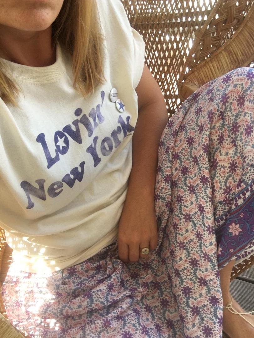 t-shirt newtone lovin new york