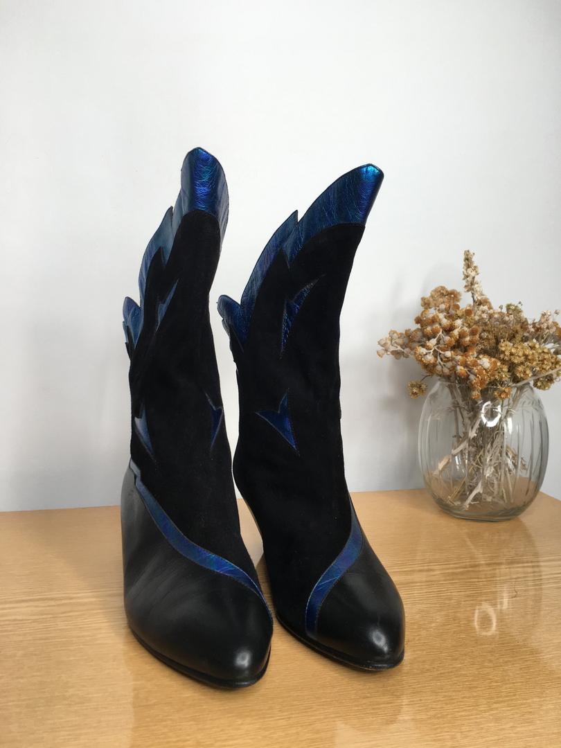 boots années 80 face