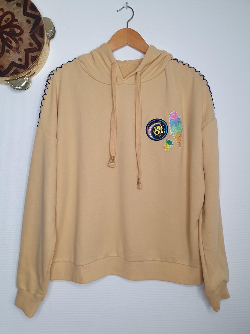 hoodie jaune
