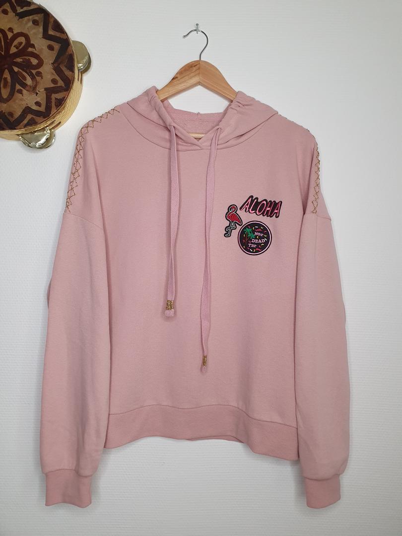 hoodie rose