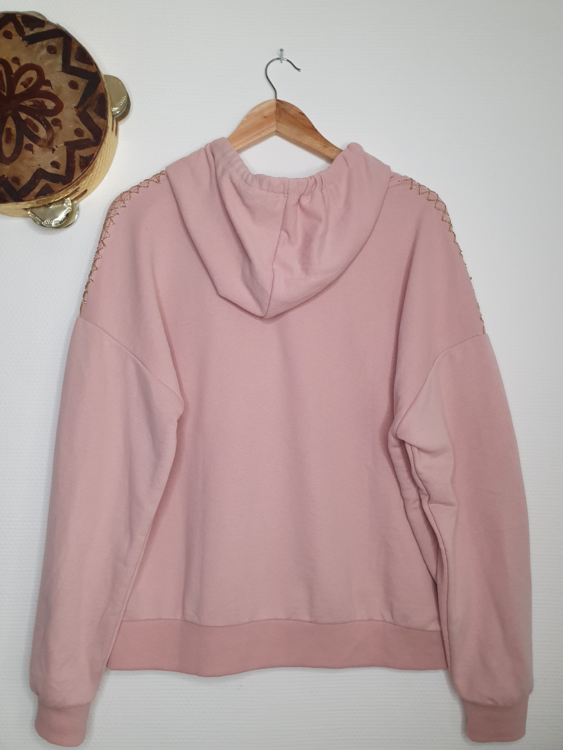 hoodie rose dos