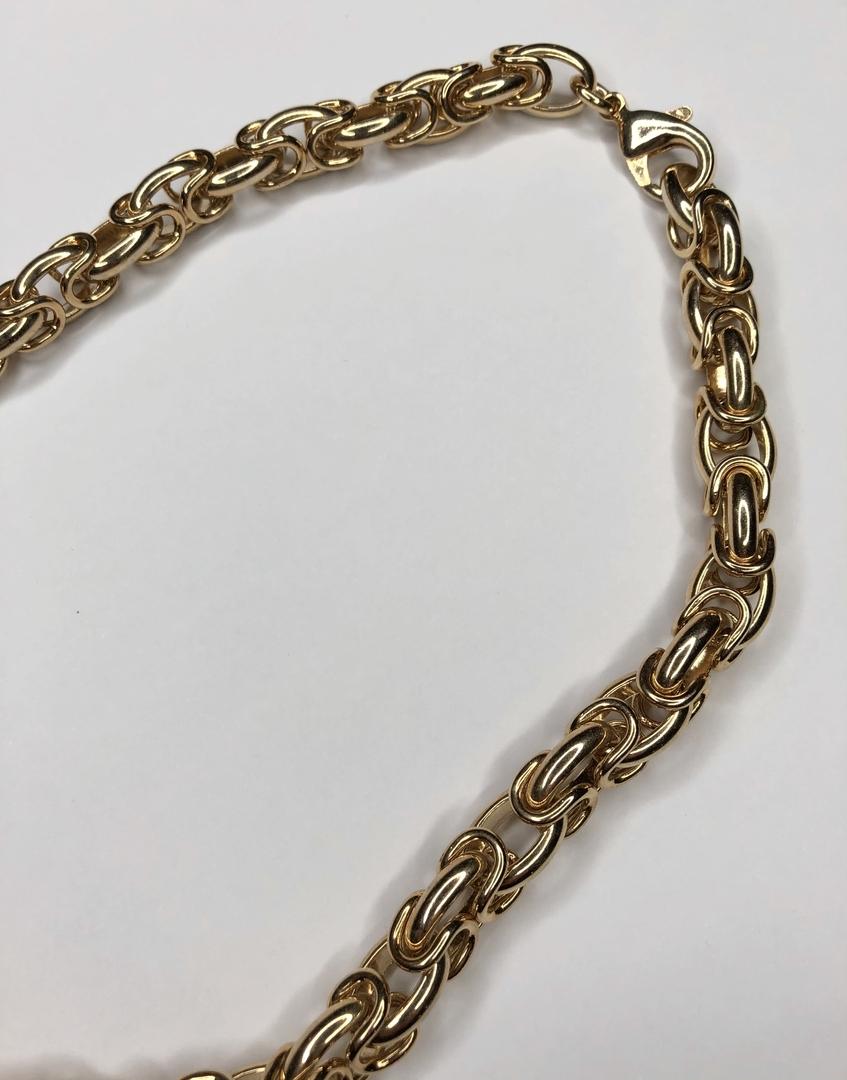 collier doré anna détail