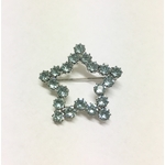 broche étoile bleue reine rosalie