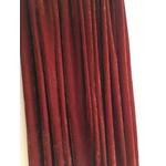 jupe natacha velours brique détail