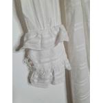 robe blanche vintage manche