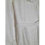 robe blanche vintage taille