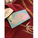 robe broderies chinoises détail étiquette