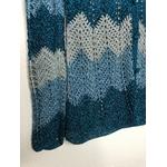 gilet crochet lurex vintage détail bis