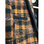 veste tweed vintage détails
