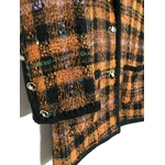 veste tweed vintage détail