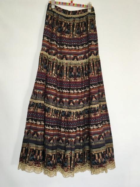 jupe longue vintage
