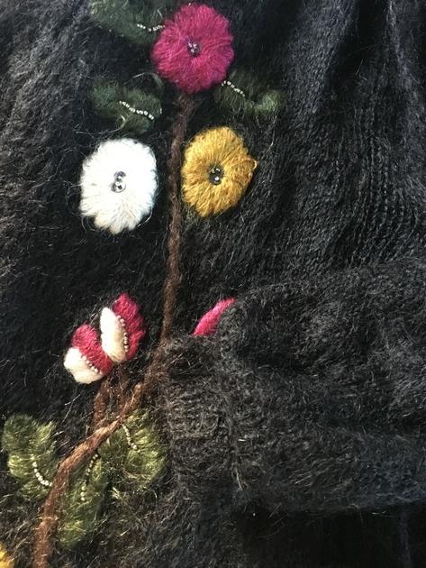 gros gilet en laine détails 3