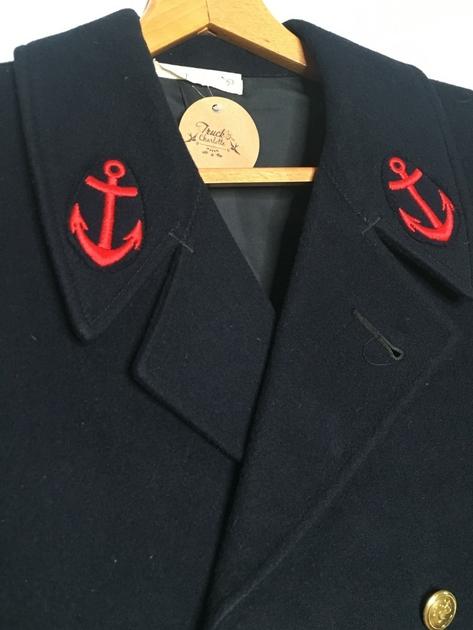 caban de marin vintage col