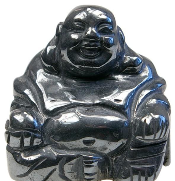 Bouddha Rieur Assis 4 Cm En H Matite Porte Bonheur