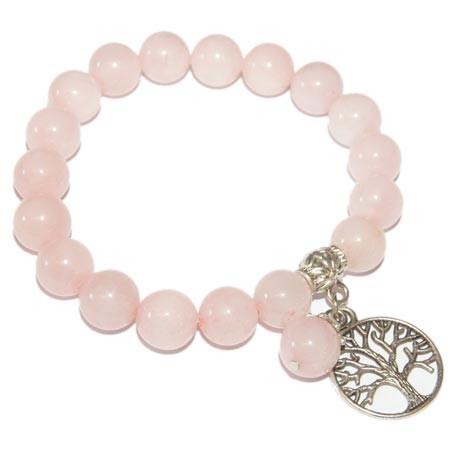 6503-bracelet-quartz-rose-boules-8-mm-avec-arbre-de-vie