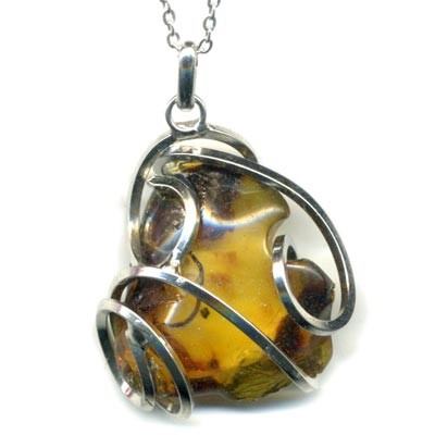 5489-ambre-brun-en-pendentif-stone-style