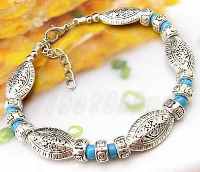 3417-bracelet-tibetain-en-howlite-turquoise-type-15