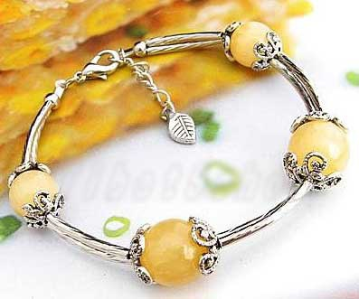 3416-bracelet-tibetain-en-calcite-jaune-type-18