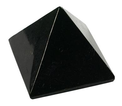 Pyramide en shungite 40 x 40 mm extra for Finestra 40 x 40