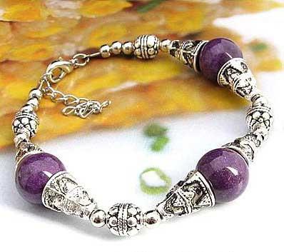 2717-bracelet-tibetain-en-agate-mauve-type-9