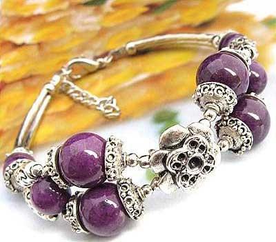 2699-bracelet-tibetain-en-agate-mauve-type-4