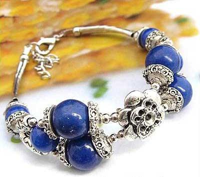 2698-bracelet-tibetain-en-howlite-lapis-type-4