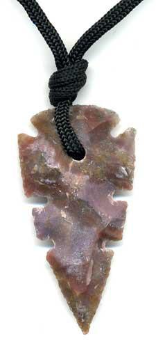 2534-collier-pierre-a-feu-flint-ou-silex-fleche