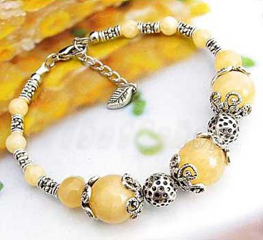 2467-bracelet-tibetain-en-calcite-jaune-type-7