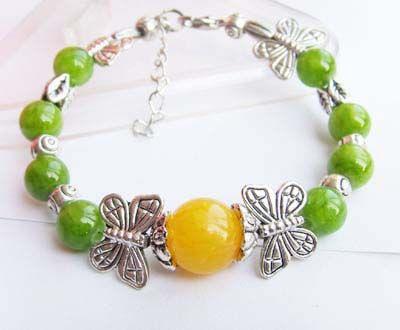 2075-bracelet-tibetain-en-jade-et-calcite-orange